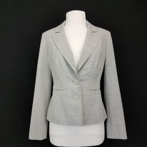 Express 2 button Blazer Jacket Gray size 4